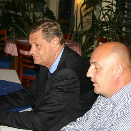 Peter Fernitz und Tagungsleiter Bernd Kwiatkowski